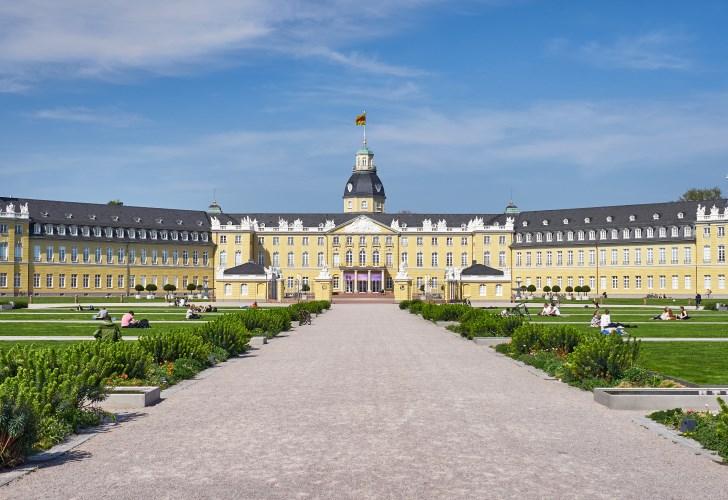 Schloss in Karlsruhe