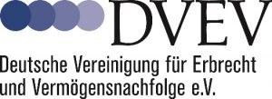 Logo der DVEV, Deutsche Vereinigung für Erbrecht und Vermögensnachfolge e.V.