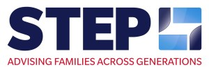 Logo der STEP (Society of Trust and Estate Practitioners) – Advising Families across Generations.